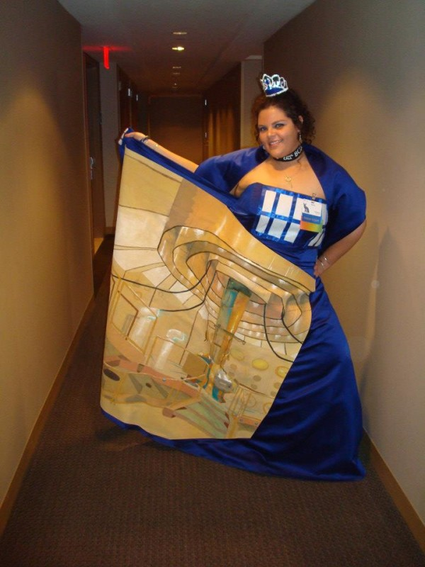 Bigger On The Inside Tardis Dress