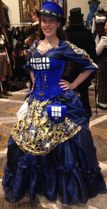 Steampunk Tardis Dress