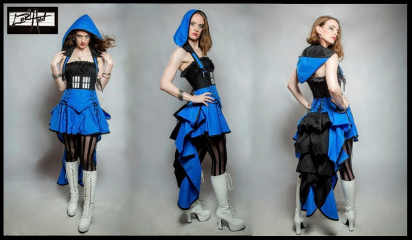 Bustle and Corset Tardis Dress