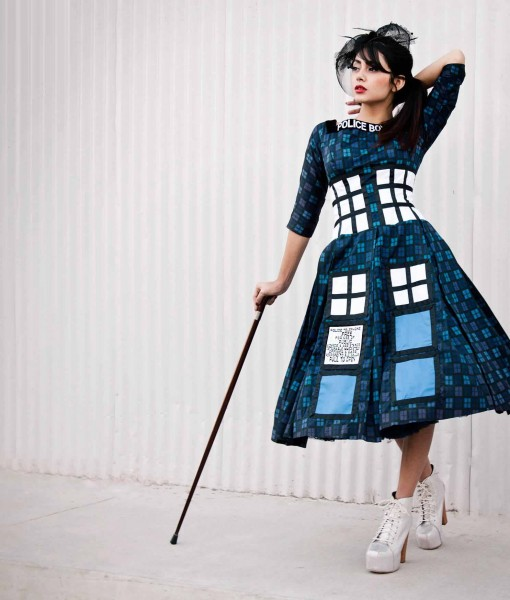 Victorian Tardis Dress
