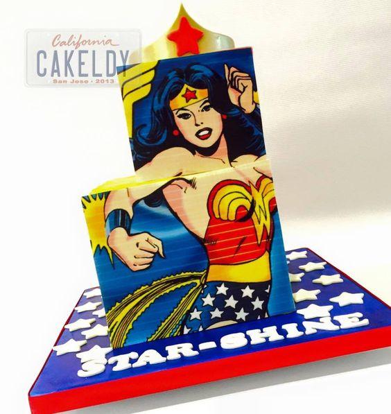 California Cakeldy Wonder Woman Cake