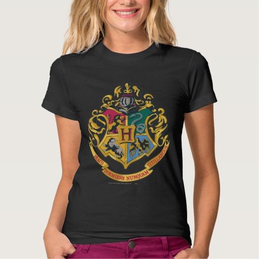 Hogwarts 4 Crest House T-Shirt