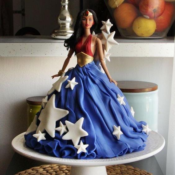 Birthday Barbie Cake Game