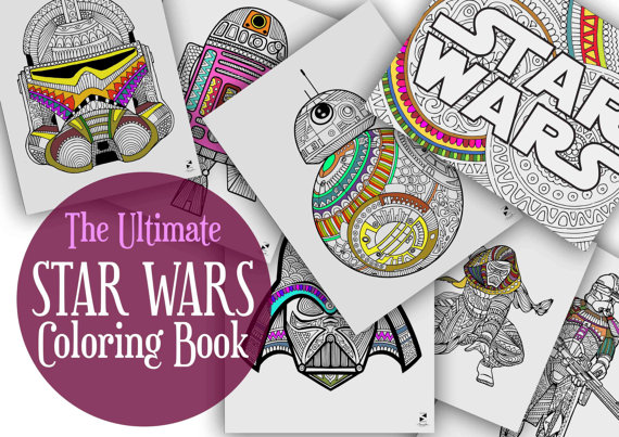 The Ultimate STAR WARS Coloring Book