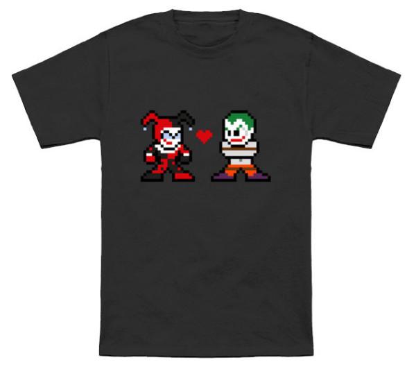 8 Bit Harley Quinn T-Shirt