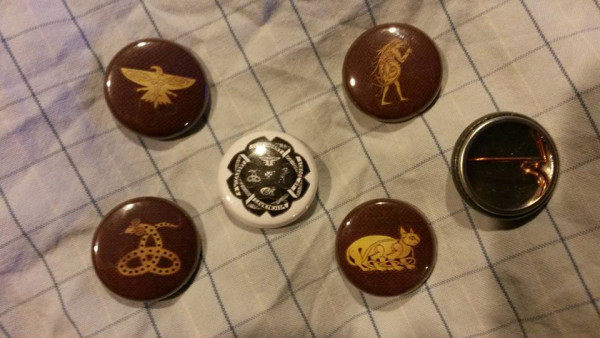Ilvermorny Buttons