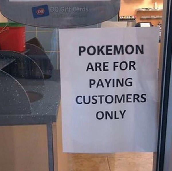 Pokemon's Are For Paying Customers