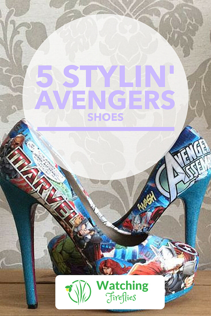 5 Stylin' Avengers Shoes