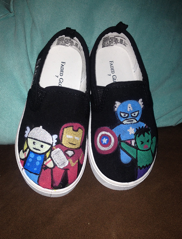 Toddler Avenger Shoes