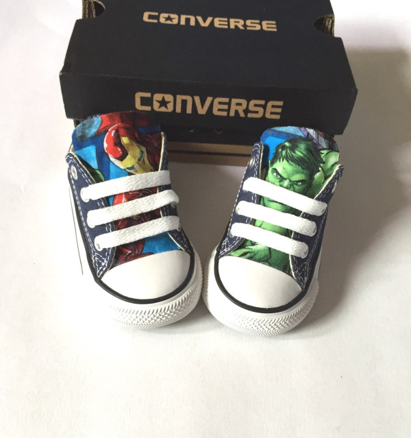 Avengers Baby Converse Shoes