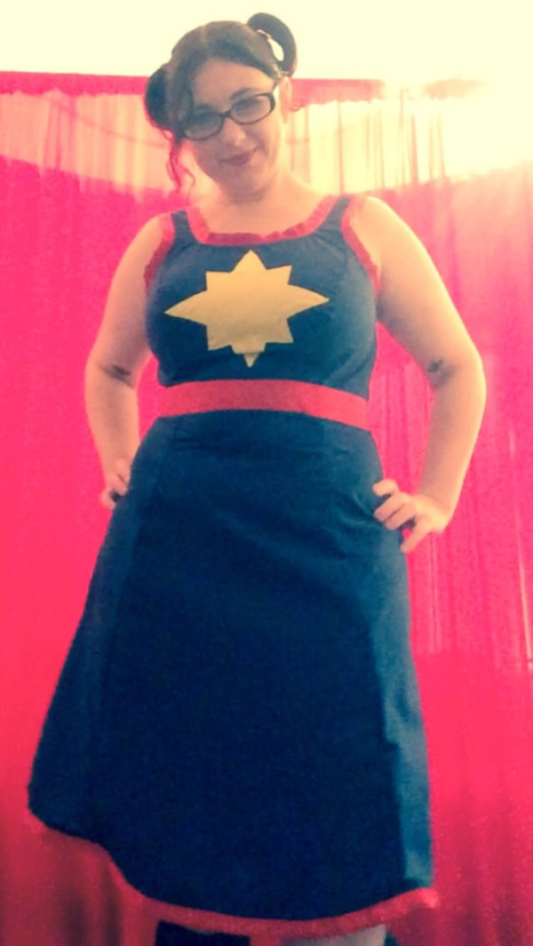 Captain Marvel Dress