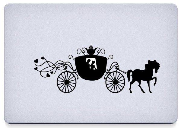 Cinderella's Carriage Decal
