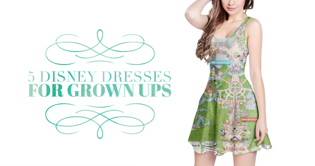 5 Disney Dresses For Grown ups