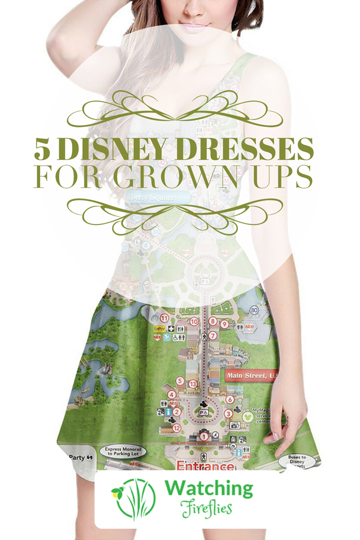 5 Disney Dresses For Grown ups Pinterest