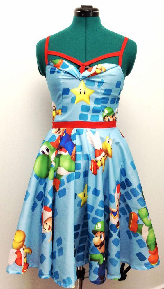 Cute Super Mario Dress