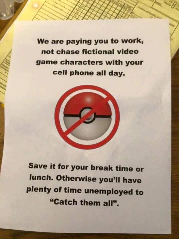 Employee's Post Warnings