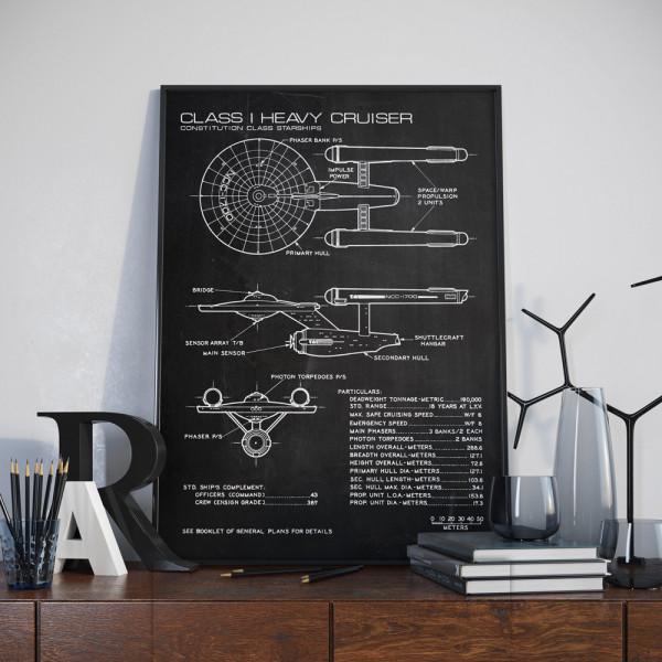 Star Trek Enterprise Ship Design Schema