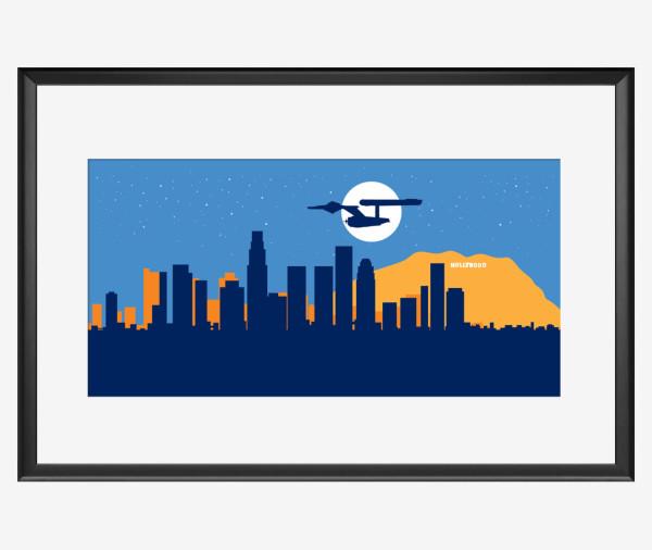 Skyline Enterprise Poster