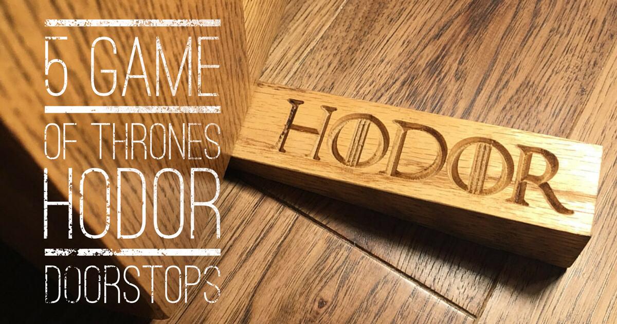 Game of Thrones Hodor Doorstops
