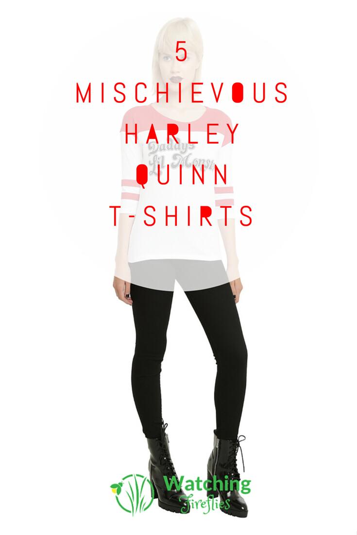 5 Mischievous Harley Quinn T-Shirts