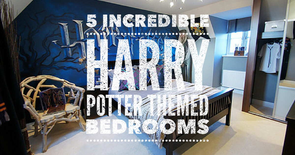 5 incredible harry potter inspired bedrooms watching for Bedroom ideas harry potter