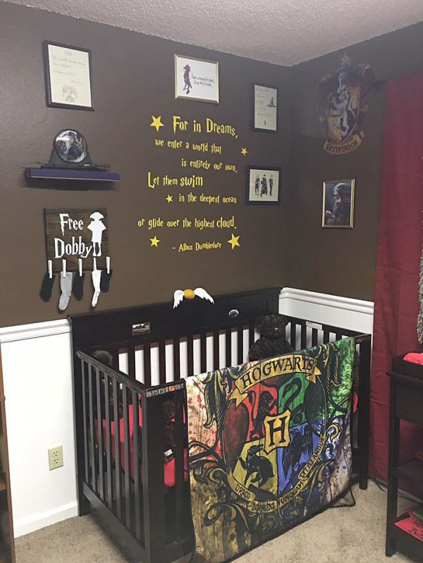 Harry Potter Baby Rooms