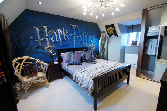 Blue Harry Potter Room
