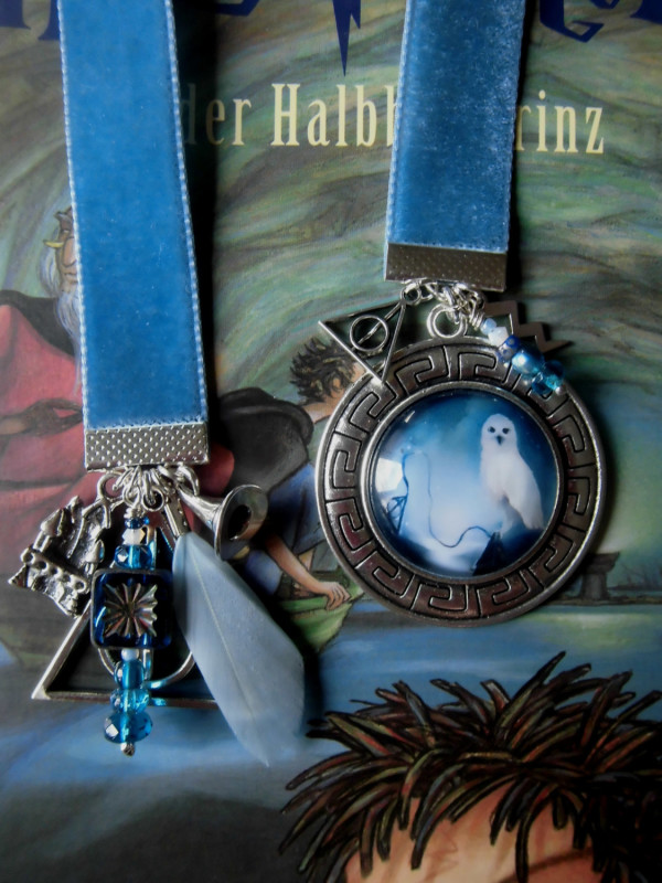 Velvet Hedwig Bookmark