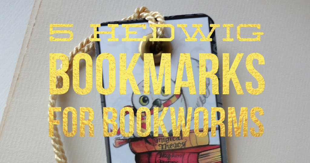 5 Hedwig Bookmarks For Bookworms