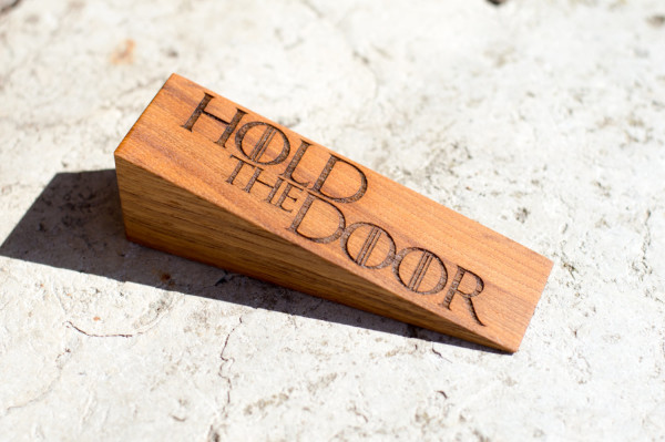 Hold The Door Doorstop