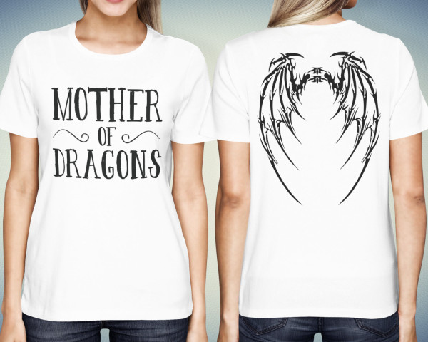 Mother Of Dragons With Wings