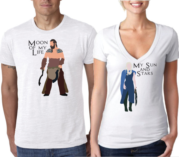 Khaleesi And Drogo His And Hers Shirts