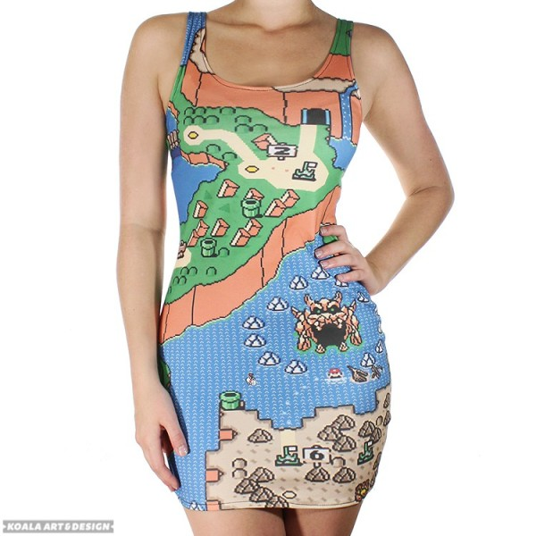 Mario Map Dress