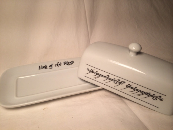 Lard of the Rings Butter Dish