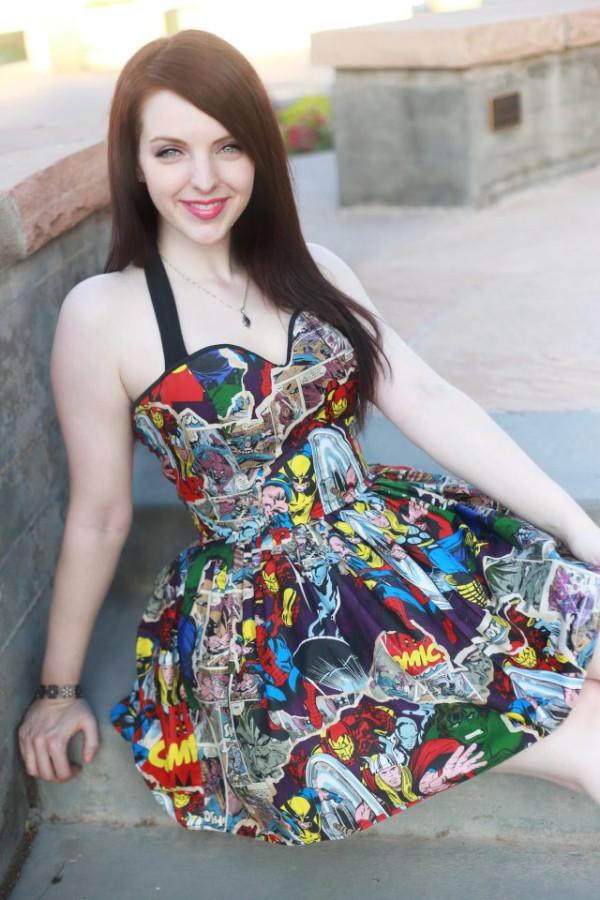 Marvel Halter Dress