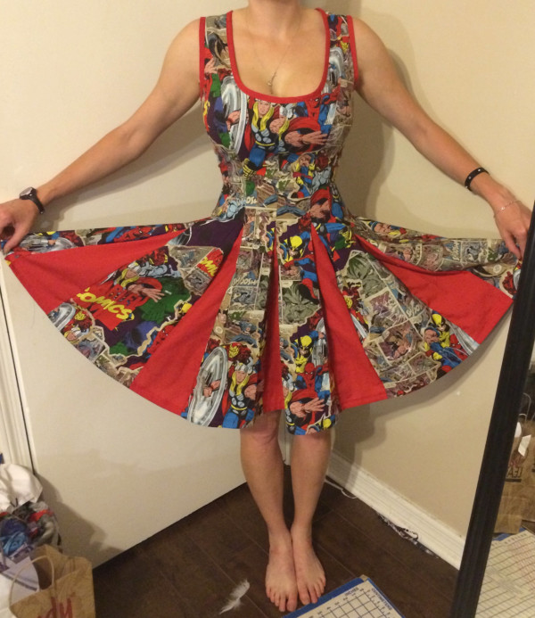 Avengers Pinup Dress