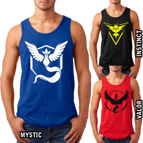 PokemonGo Team Mystic Mens Tanktop