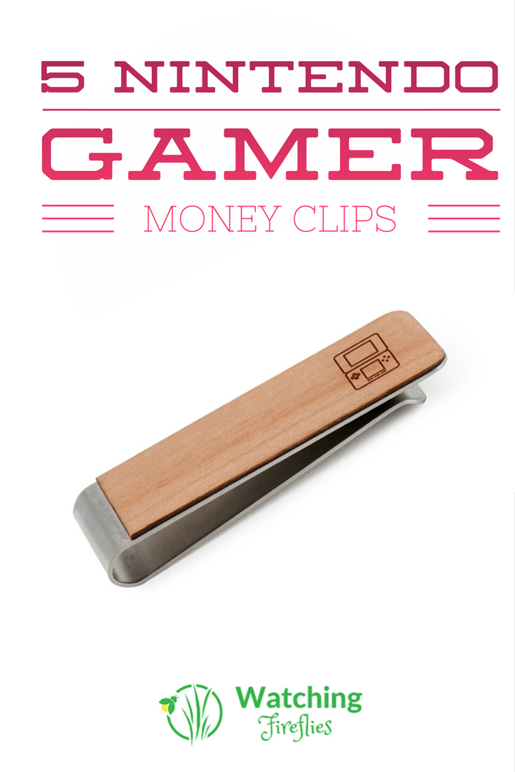 5 Nintendo Gamer Money Clips
