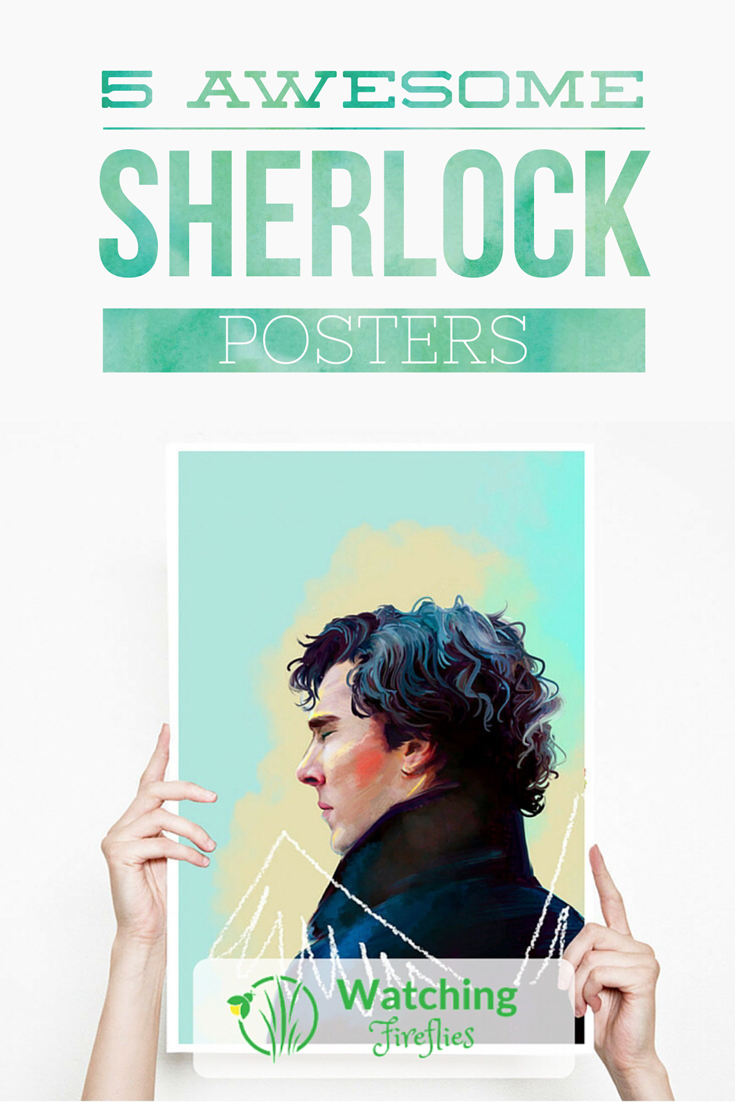 5 Awesome Sherlock Posters Pinterest