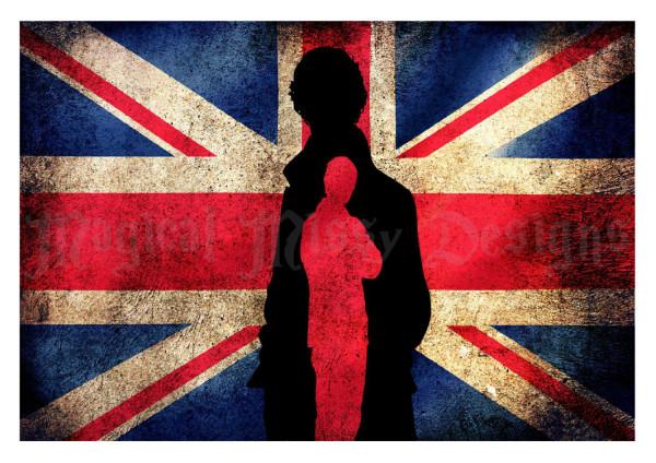 Sherlock Union Jack