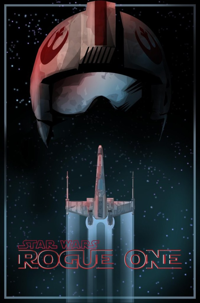Rebel Helmet and X-Wing