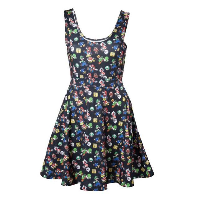 Little Black Mario Dress