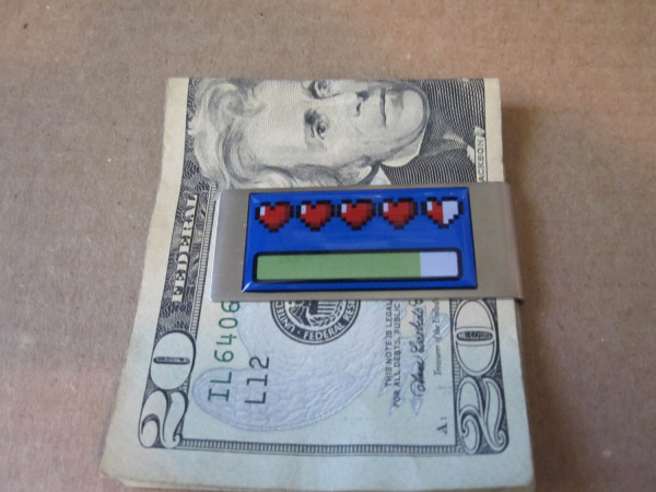 Zelda Energy Bar Money Clip