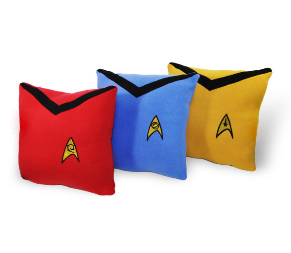 Star Trek Uniform Matching Pillow Set