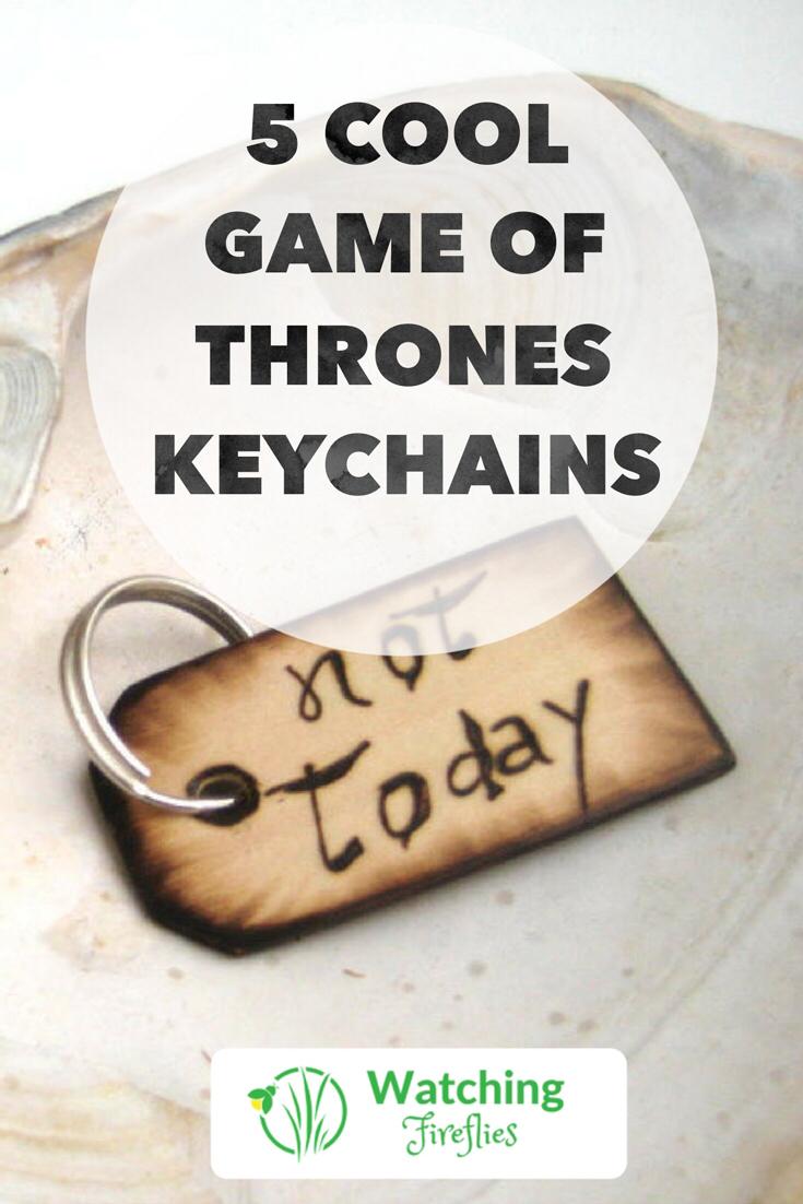 5 Cool Game Of Thrones Keyrings