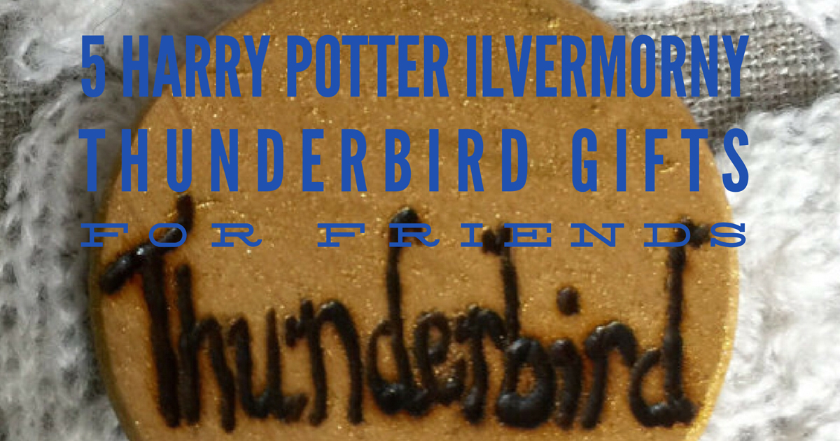 5 Harry Potter Ilvermorny Thunderbird Gifts For Friends