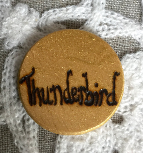 Thunderbird House Pin