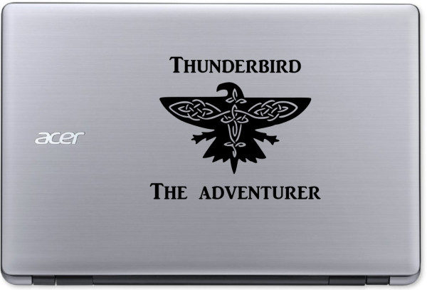 Thunderbird Laptop Sticker