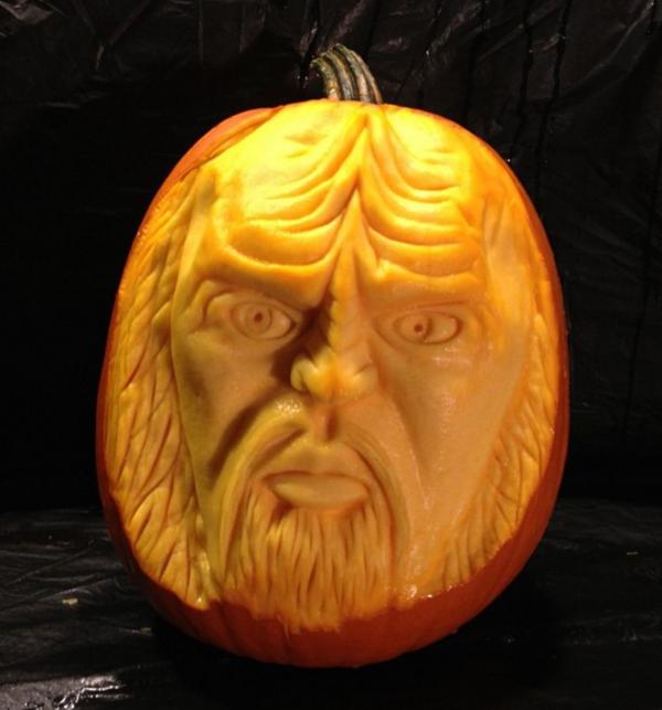 Klingon Pumpkin