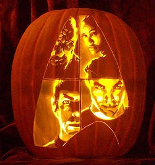 Star Trek Movie Pumpkin